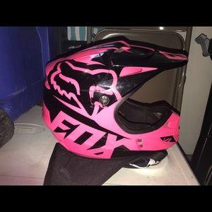 Accessories - Women's fox riding helmet